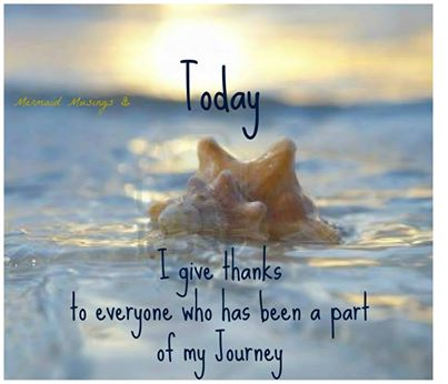 Give Thanks for The Journey