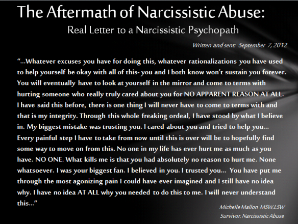 Aftermath of Narc Abuse